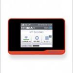 Docomoから、屋外でも5GHz帯が使用できるWifiルータ「HW-01F」が 22日発売。