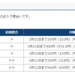 5万円商品券CBにつられて ソフマップでフレッツ光隼(OCN)を契約してきた。