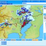 近畿圏の降雨状況の確認は「大阪市降雨情報」が便利。