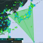 #Ingress  東京でのイベント開催中にエンライテンドにより日本沈没、どちらのチームも身動きが取れなく