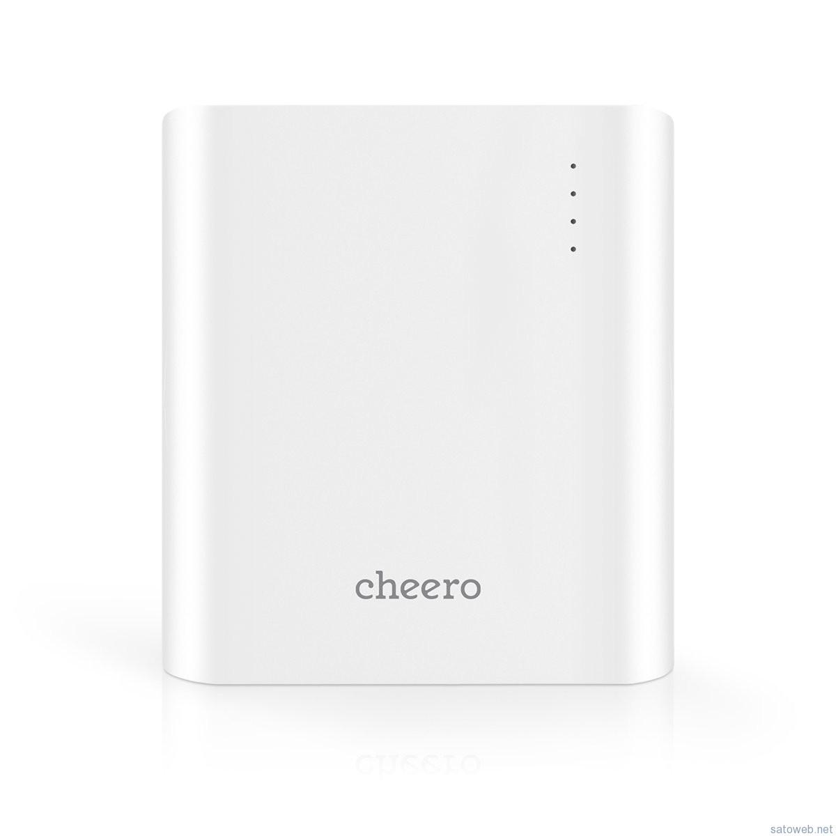cheero Power Plus 3 13400mAh 大容量 モバイルバッテリーがAmazonにて値下がり。 2980円に