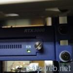 「RTX3000」を導入してみた。