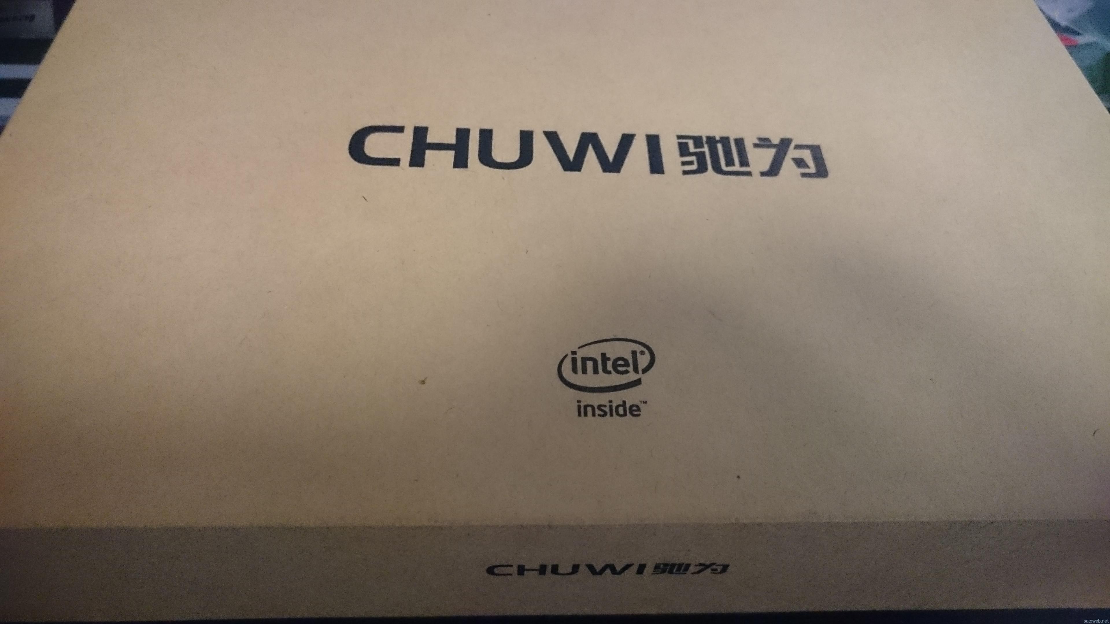 中華DualBoot Tablet「CHUWI Hi8」を購入してみた。その1