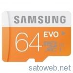 SAMSUNG 64GBMicroSD(MB-MP64D/FFP)を試してみる。