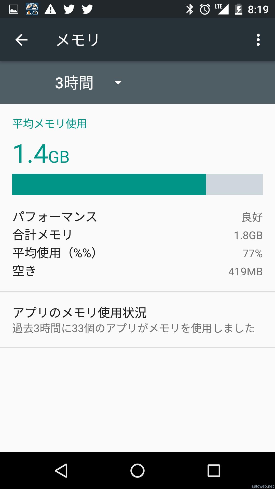Playストア版 「Nexus5」にAndroid6.0が更新可能に。