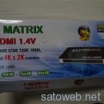 4x2 HDMIマトリクスを輸入してみた。