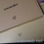 Chuwi Hi10 がようやく到着。  いつのまにかDualBootではなくWindows10単体になっていた。