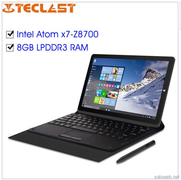 中華タブレットに 8GBモデルが登場 「TECLAST X16 Power」ペンにも対応し45000円から