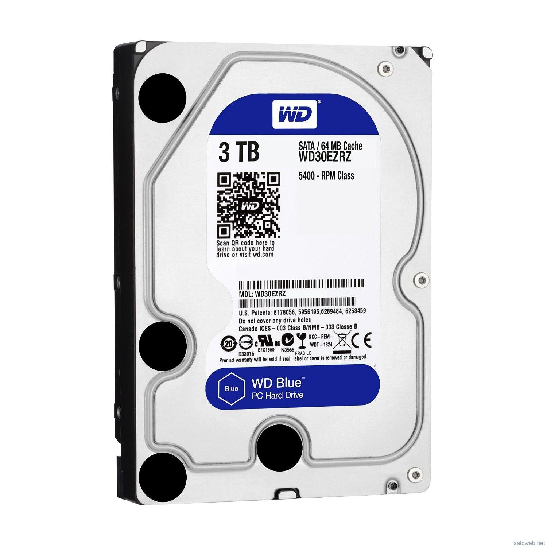 WD 3TBHDD (Blue)WD30EZRZ/AFPがタイムセール対象! 9382円なり!