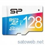 SP永久保証、128GB microSDカードが Amazonタイムセールにて最安値更新   4822円なり!