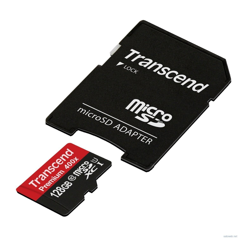 【Amazon】Transcend  128GB microSDXCカードが、タイムセールで4480円なり【過去最安値】
