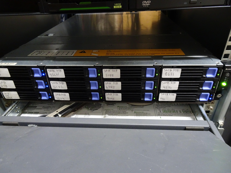 自宅ファイルサーバをML110G7からR520G7に更新。