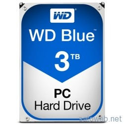 WD 3TB BlueがNTT-Xにて20日10時まで限定クーポン適用で 7980円也!