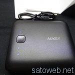 AUKEY 10000mAh モバイルバッテリー 【PB-N42】を試す。