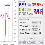 HUAWEI P9 急速充電検証1 「9Vを突っ込んでみる。」