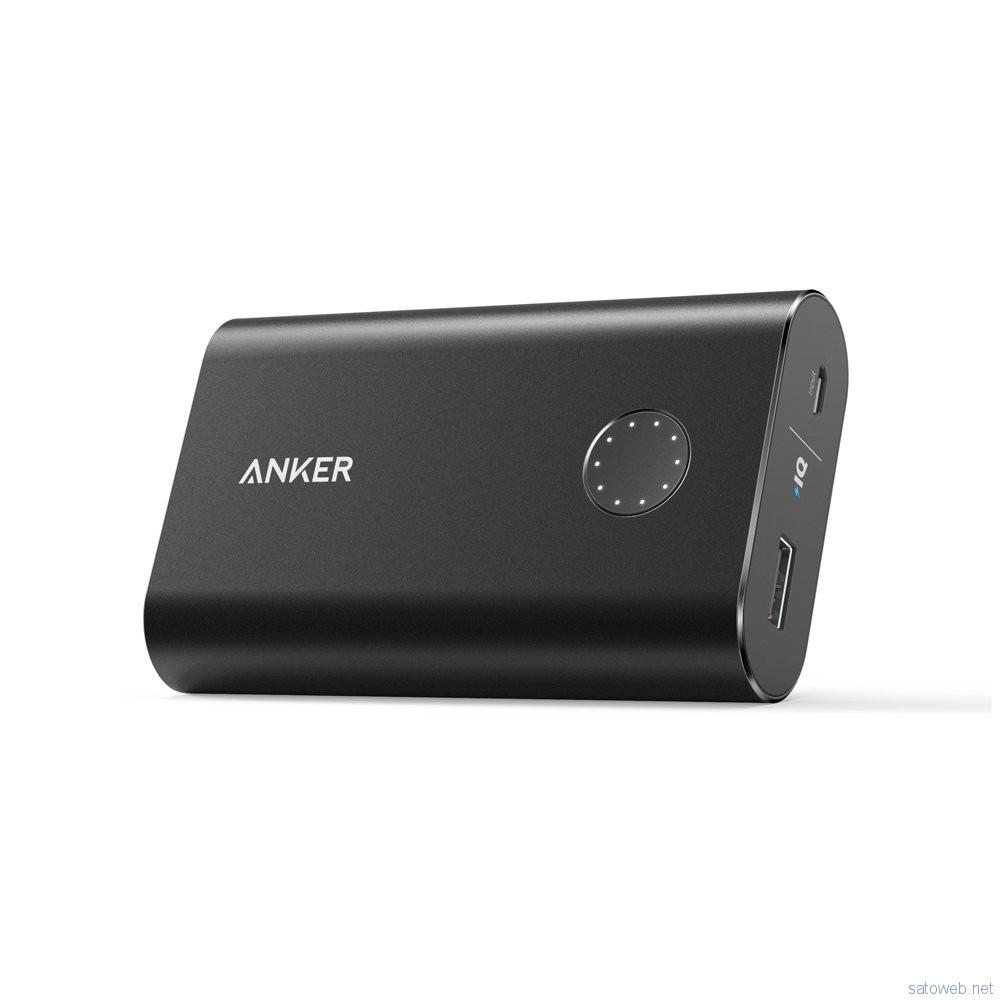 Anker、QC2.0対応10050mAhモバイルバッテリーがタイムセール、2399円也【amazon】