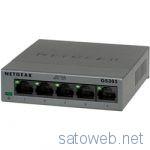 NTT-Xにて、Netgear ギガビット5ポートスイッチングハブ「GS305-100JPS」が時限クーポン適用で1778円也!