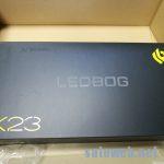 超安価な赤軸「LEOBOG K23 有線USB接続メカニカルキーボード」を試す。