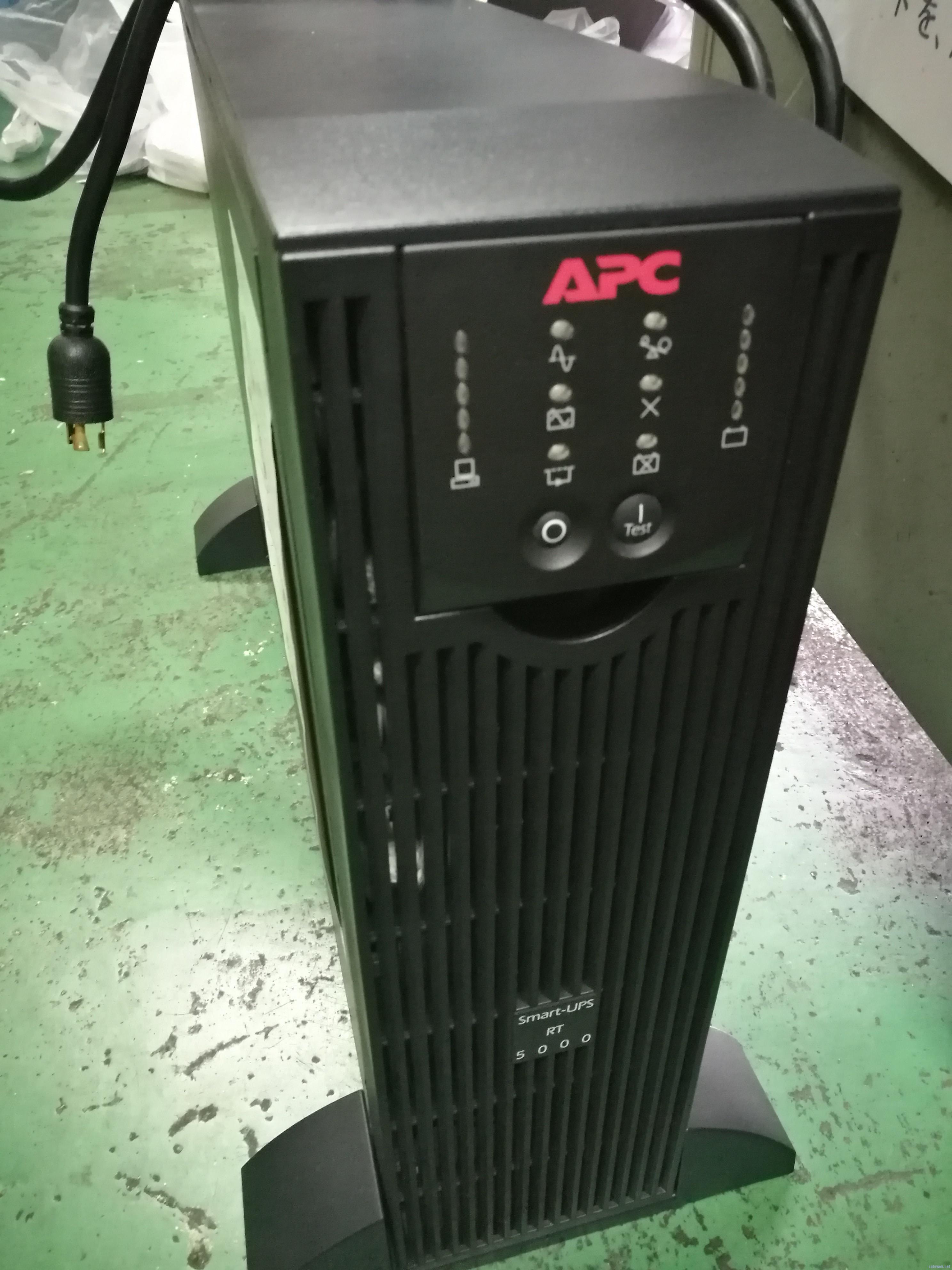 SmartUPS RT5000を入手してみた(不良編)