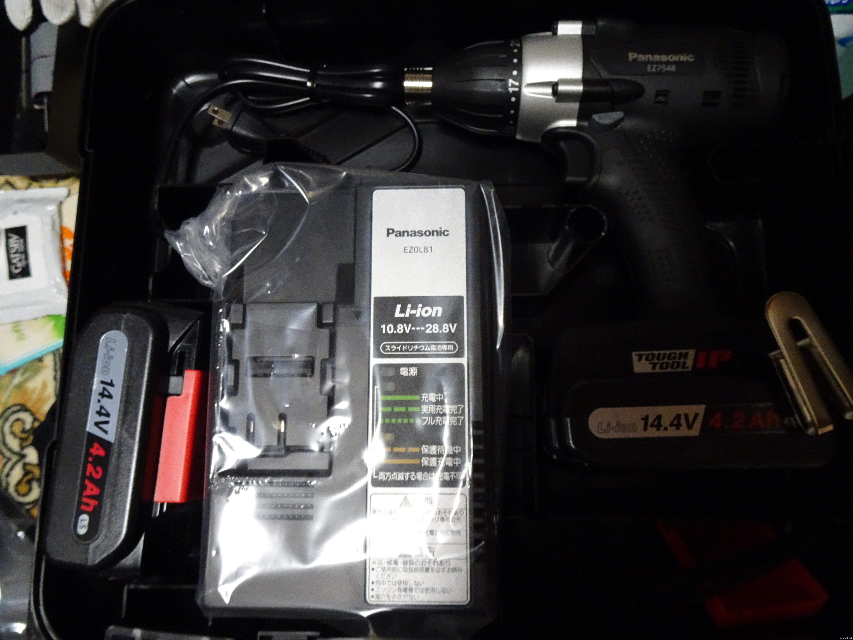 【AmazonプライムDay戦利品レビュー】Panasonic 充電 マルチインパクトドライバー