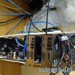 PCI-Ex1-x16ライザーガードの初期不良に悩まされる。