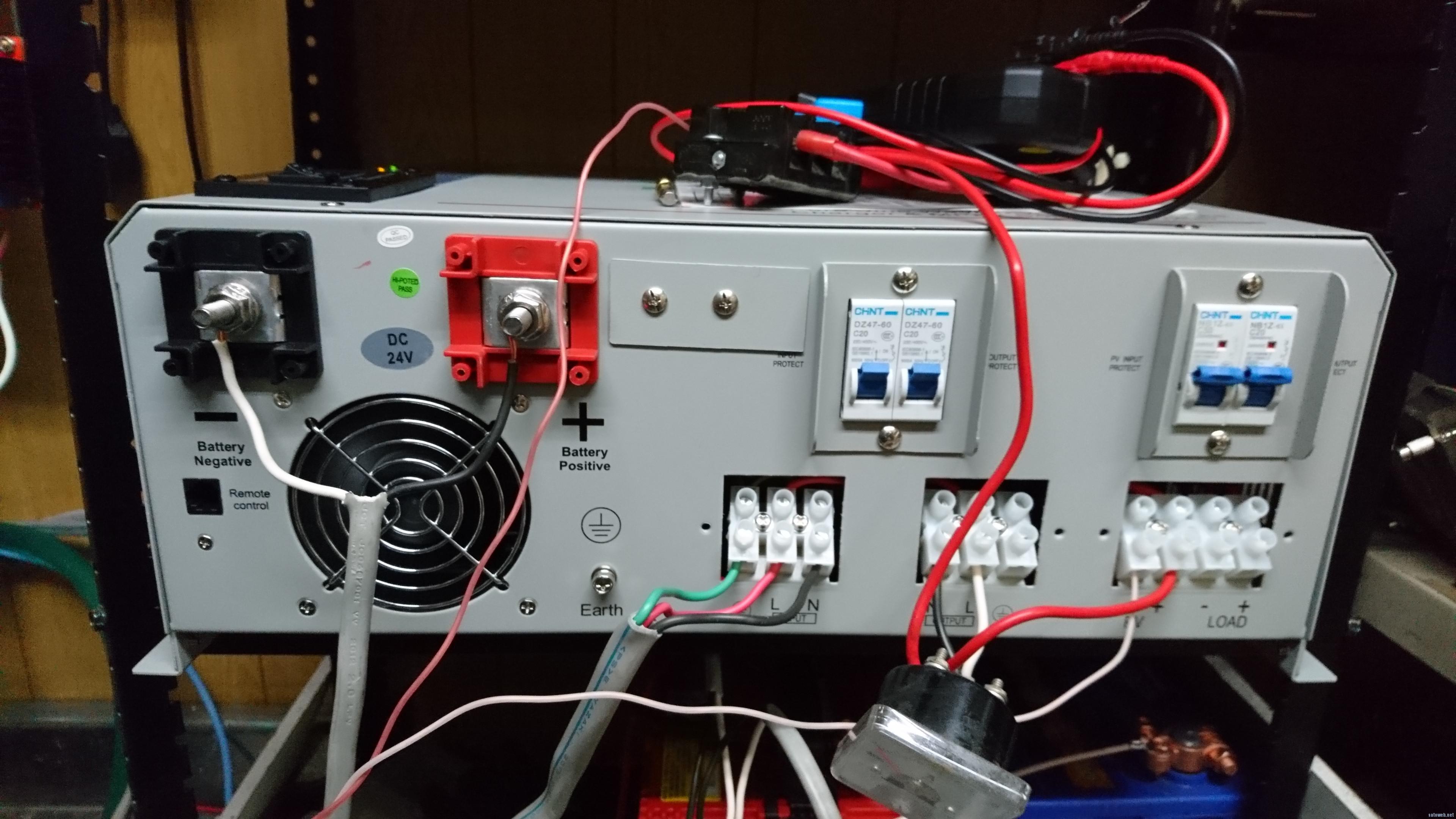 24V/2000W対応、OFFGridInverter(オフグリッドインバーダー)を輸入してみた。