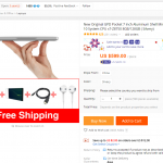 Aliexpress、Brands shipping weekで「GPD Pocket」が$485.19に。