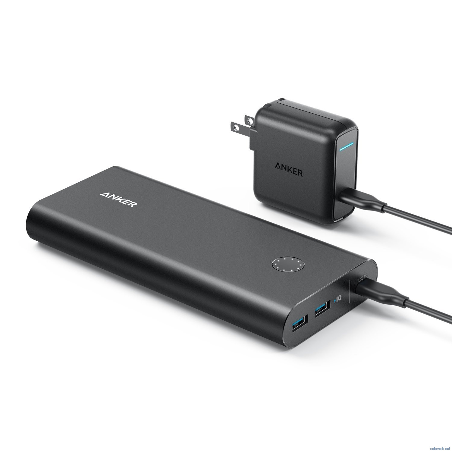 Anker からPower Delivery対応 モバイルバッテリー「PowerCore+ 26800 PD 」登場、充電器付属で9999円也。