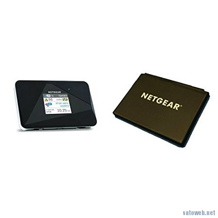 NETGEAR LTE対応Wifiルーターが  専用リチウムイオンバッテリーセットで9980円なり【3月20日限定】