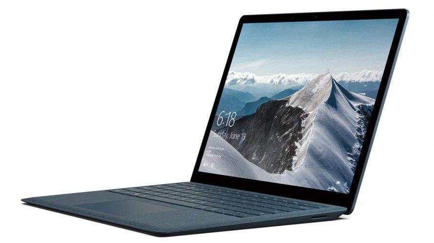 Amazon   マイクロソフト Surface Laptop [サーフェス ラップトップ ノートパソコン] OfficeH&Bあり 13.5型 Core i5/256GB/8GB コバルトブルー DAG-00094