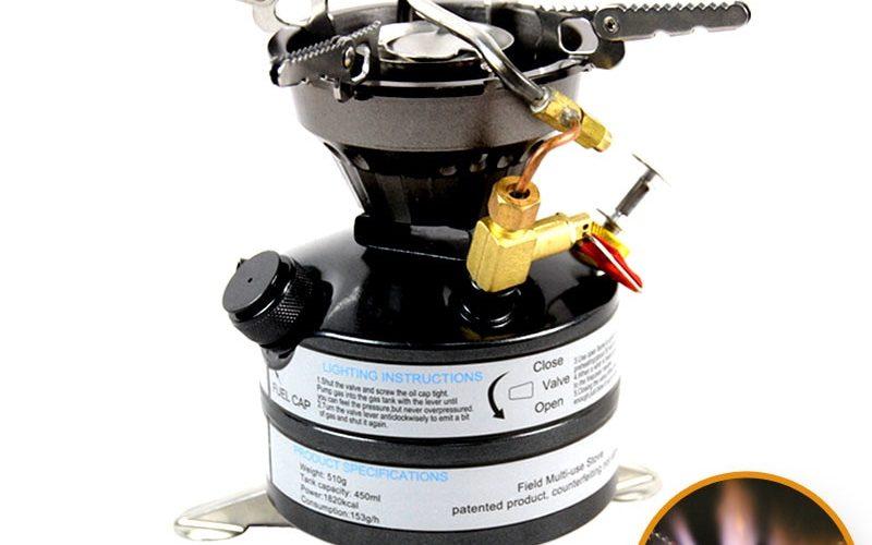 灯油も使える「BRS 12A Power Multi fuel Stove 」を試す。